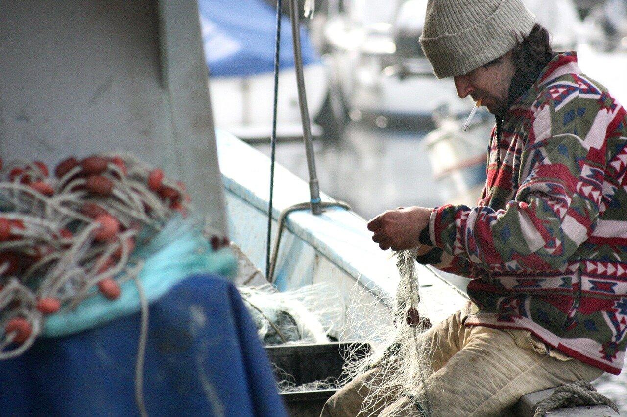 Sprzęt dla rybaków – Siatka rybacka, Odłówki